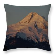 Mt Hood   Throw Pillow