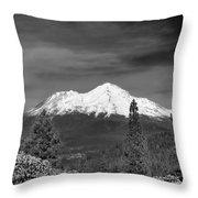 Mt Shasta Throw Pillow