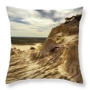 Mungo National Park, Australia Throw Pillow
