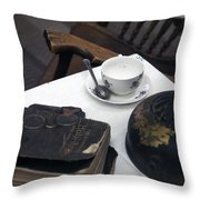 Museum Artifacts Throw Pillow