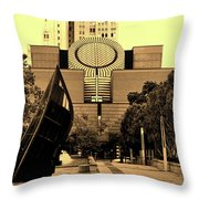 Museum Of Modern Art - San Francisco Throw Pillow