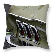 Mustang Fastback Throw Pillow
