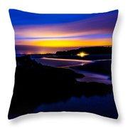 My Private Beach  Throw Pillow