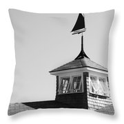 Nantucket Weather Vane Throw Pillow