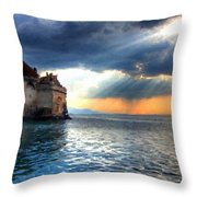 Natural Landscapes Throw Pillow