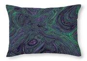 Neural Abstraction #1 Throw Pillow