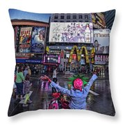 New York Soho  Throw Pillow