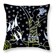 Nuer Lady -  South Sudan Throw Pillow