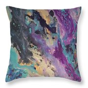Ocean Floor Throw Pillow