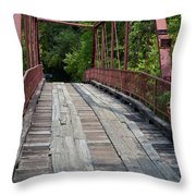 Old Alton Bridge  Throw Pillow
