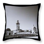 Old Jerusalem  Throw Pillow