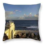Old San Juan Throw Pillow
