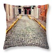 Old San Juan Puerto Rico Throw Pillow