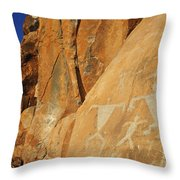 Olowalu Petroglyphs Throw Pillow