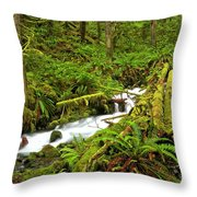 Olympic Tranquility Throw Pillow