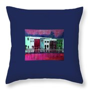On The Banks Of The Grand River Throw Pillow