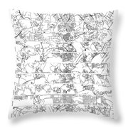 On The Road With 10 Digits Of Pi Throw Pillow