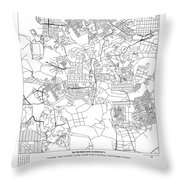 On The Road With 36 Digits Of Pi Throw Pillow