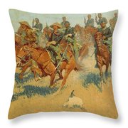 On The Southern Plains Throw Pillow