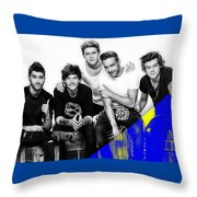One Direction Collection Throw Pillow