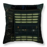One World Trade Center In New York City  Throw Pillow