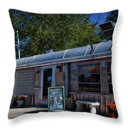 O'rourke's Diner Throw Pillow