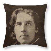 Oscar Wilde 1 Throw Pillow