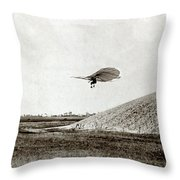 Otto Lilienthal (1848-1896) Throw Pillow