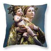 Our Lady Of Graces Throw Pillow
