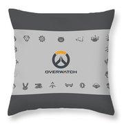 Overwatch Throw Pillow