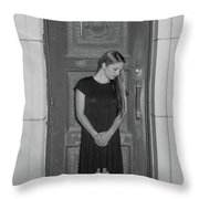 Closing The Doorway To The Past Throw Pillow