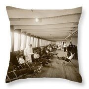Palaces Of The Pacific Throw Pillow