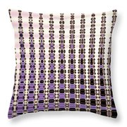 Palm Trees Abstract Design Throw Pillow