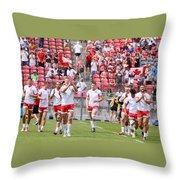 Pamam Games Men's Rugby 7's Throw Pillow