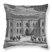 Paris Observatory, 17th Century Throw Pillow