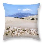 Patara Beach - Turkey Throw Pillow