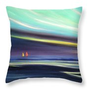 Peace Is Colorful 2 Throw Pillow