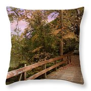 Peaceful Repose Throw Pillow