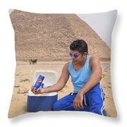 Pepsi Advertisement Throw Pillow