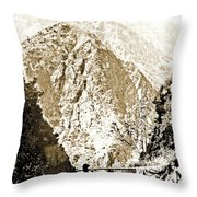 Pico Ruivo Mountain, Madeira, Portugal, C.1900 Throw Pillow