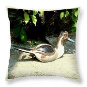 Pintail Throw Pillow