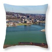 Pittsburgh Panorama Throw Pillow