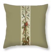 Plants And Animals Throw Pillow