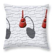 2 Pm Throw Pillow