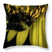 Pollen Collector 3 Throw Pillow