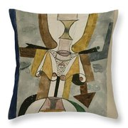 Popular Wall-painting Throw Pillow