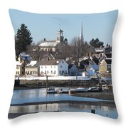 Portsmouth, New Hampshire Throw Pillow