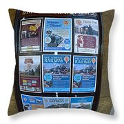 Posters Throw Pillow