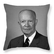 President Dwight Eisenhower - Two Throw Pillow