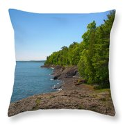 Presque Isle Throw Pillow